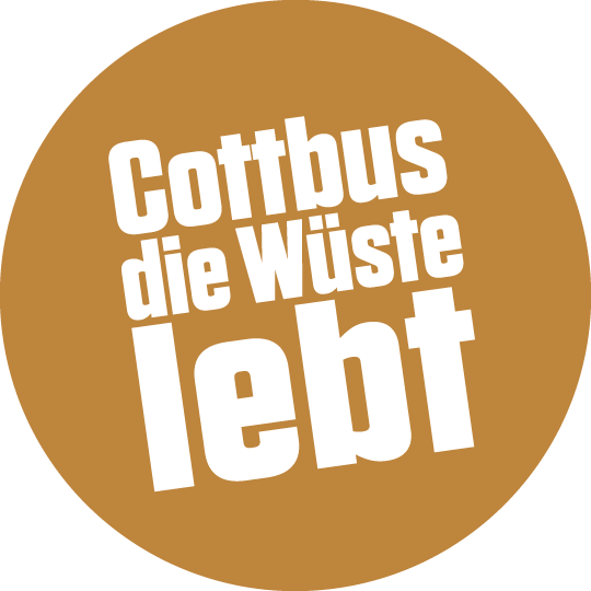 Cottbus die Wüste lebt Logo